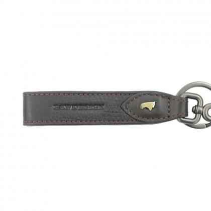 RAV DESIGN Men's Genuine Leather Anti-RFID Key Chain |RVW671G3 (D)