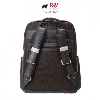 RAV DESIGN Men's Genuine Leather Backpack  RVC469G2