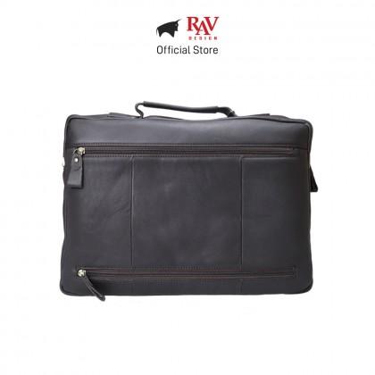 RAV DESIGN Men's Genuine Leather Briefcase |RVC470G1