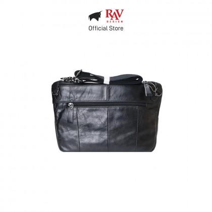 RAV DESIGN Men's Genuine Leather Sling Bag |RVC483G2