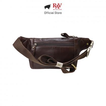 RAV DESIGN Men's Genuine Leather Belt Bag  RVY462 Series