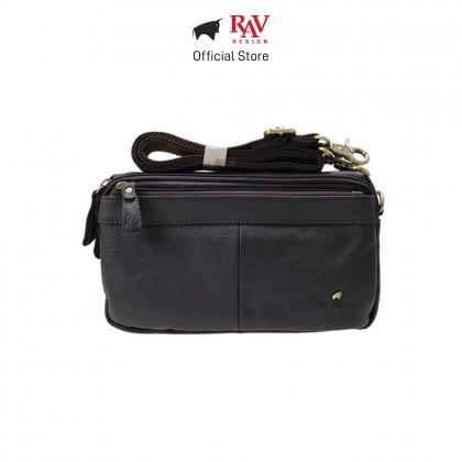 RAV DESIGN Men's Genuine Leather Sling bag  RVY476 Series