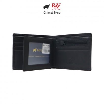 RAV DESIGN Men's Genuine Leather Wallet Money Clip |RVW665 Series