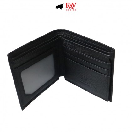 Rav Design 100% Leather Wallet & Belt Giftbox |RVG043G2(B)