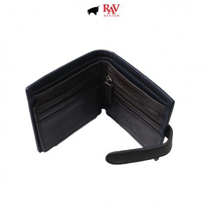 RAV DESIGN Men's Genuine Leather Anti-RFID Wallet  RVW674G1 (A)