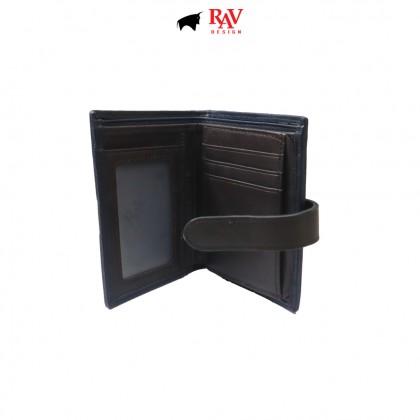 RAV DESIGN Men's Genuine Leather Anti-RFID Wallet |RVW674G1 (C)