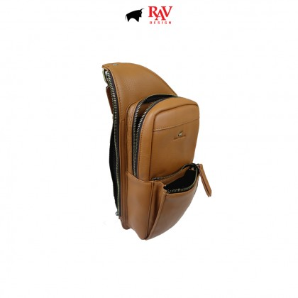 RAV DESIGN 100% Genuine Leather Crossbody Bag |RVC485G2 series