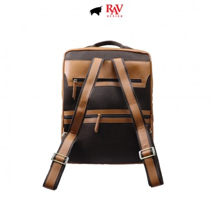 RAV DESIGN 100% Genuine Leather Backpack |RVC485G4series