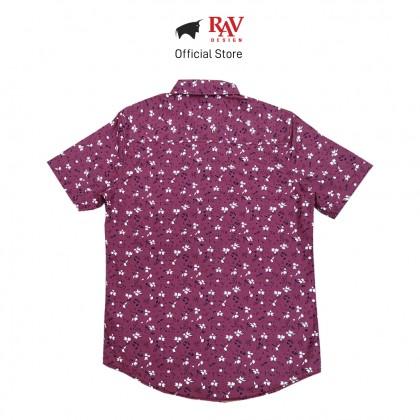 RAV DESIGN 100% Cotton Woven Shirt Short Sleeve |RSS31722002