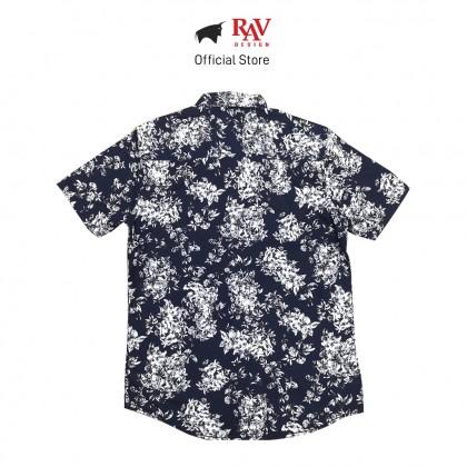 RAV DESIGN 100% Cotton Woven Shirt Short Sleeve |RSS31732001