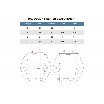 RAV DESIGN Cotton Blend Long Sleeve Sweater |RLRT3122200