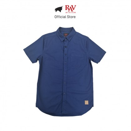 RAV DESIGN 100% Cotton Woven Shirt Short Sleeve |RSS32102011