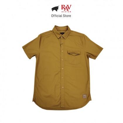RAV DESIGN 100% Cotton Woven Shirt Short Sleeve |RSS32112011