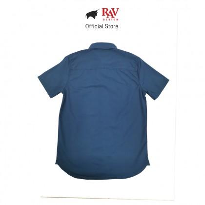 RAV DESIGN 100% Cotton Woven Shirt Short Sleeve  RSS32122011