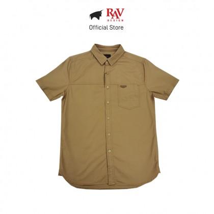 RAV DESIGN 100% Cotton Woven Shirt Short Sleeve |RSS32122012