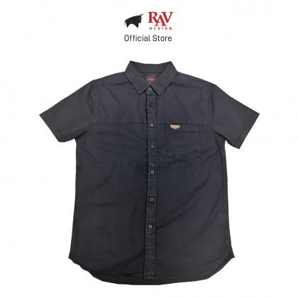RAV DESIGN 100% Cotton Woven Shirt Short Sleeve |RSS32132012