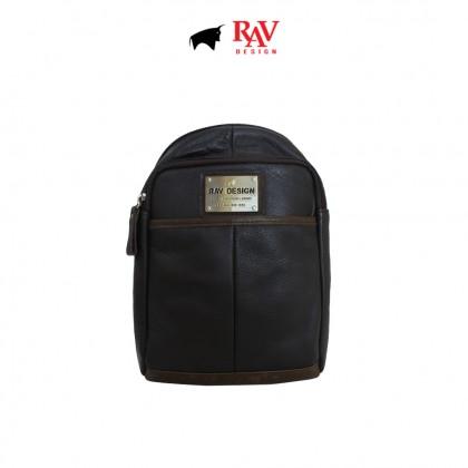 RAV DESIGN Men's Genuine Leather Crossbody Bag  RVE422G2