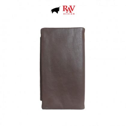RAV DESIGN Men's Genuine Leather Long Wallet  RVW512G2