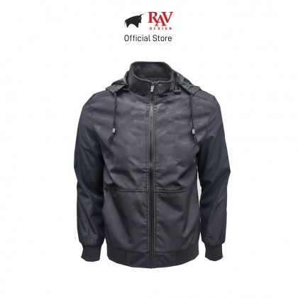 RAV DESIGN MEN'S JACKET BLACK |RLJ2896-258-1