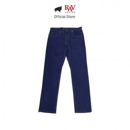 RAV DESIGN MEN'S LONG JEANS STRAIGHT CUT |RJ611258144