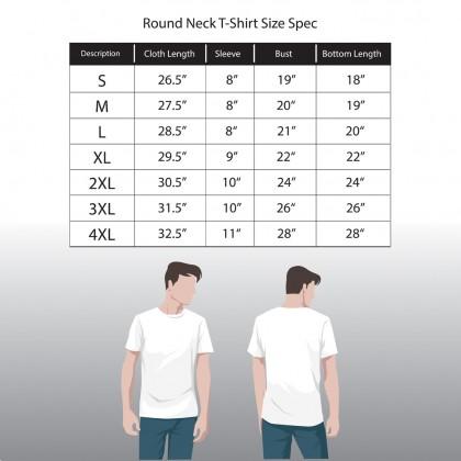RAV DESIGN 100% Cotton Short Sleeve T-Shirt Black  RRT29672095
